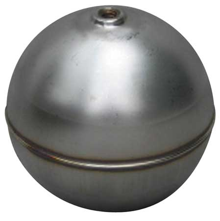 Float Ball, Round, SS, 2-1/2 In