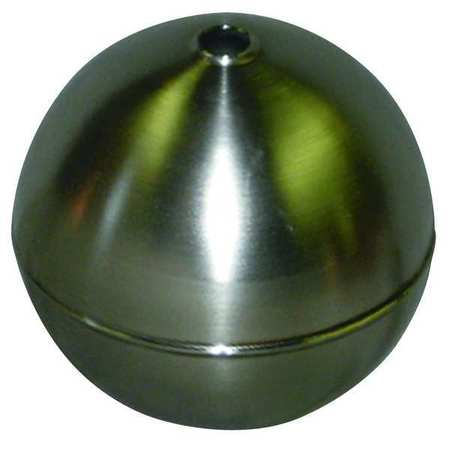 Float Ball, Round, SS, 9 In