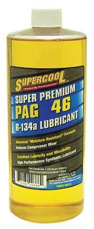 A/C Compressor PAG Lube,  32 Oz,  Flash Point 442F