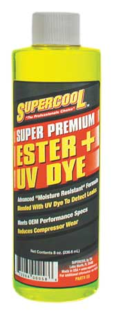 A/C Comp Ester Lube, 8 Oz