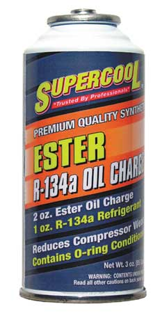 A/C 134a Charge and Ester Lube, 3 Oz
