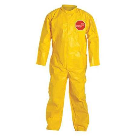 Hood Tychem(R) QC, Yellow, Open, L, PK12