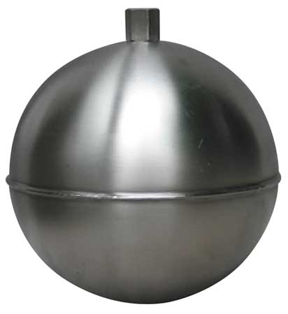 Float Ball, Round, SS, 4-1/2 In