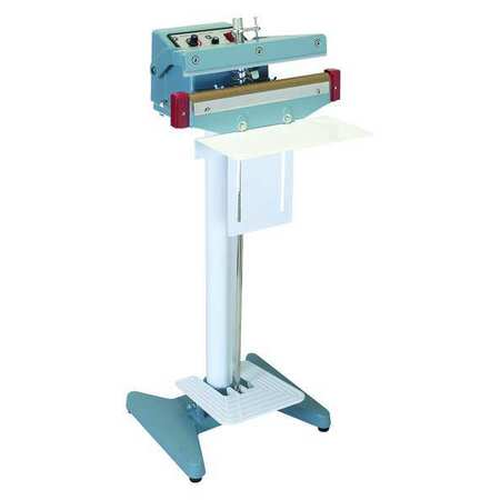 "Bag Sealer, Aluminum Alloy, Iron, 9/64"", 12"""