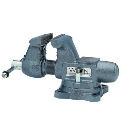 Tradesman's Vise, Swivel, 5-1/2 In Jaw