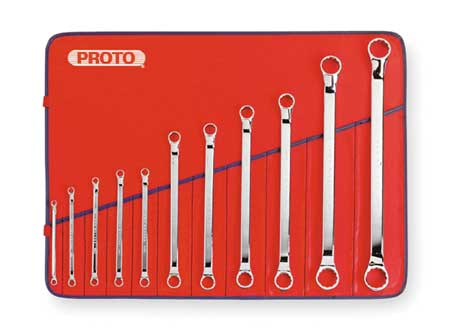 Box End Wrench Set, 6 to 32mm, 11 pcs.