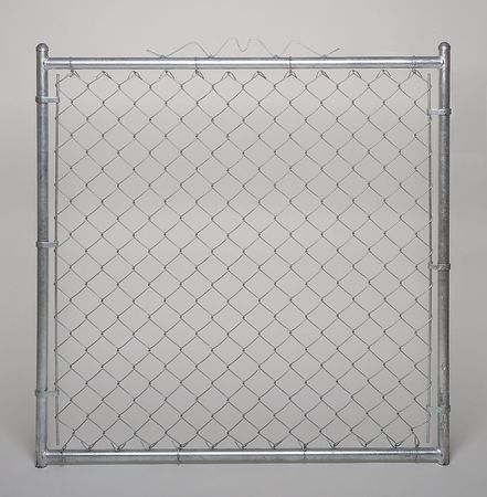 Chain Link Walk Gate, 9 ga, 48 W x 48 In H
