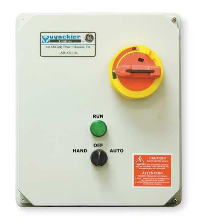 IEC Combo Str, 24 to 32A, 120V Coil, 4X Enc