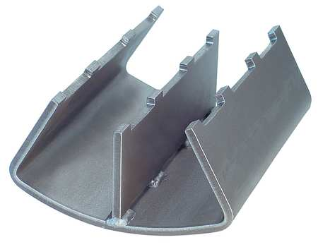 Pipe Covering Protection Saddle, 6 To 8In