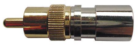 Coaxial Connector, RCA, RG6, PK10