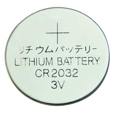 Coin Cell, 2032, Lithium, 3V