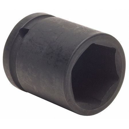 Impact Socket, 1/2In Dr, 19mm, 6pts