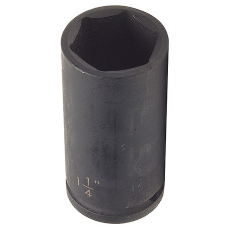 Impact Socket, 1/2In Dr, 1-1/16In, 6pts