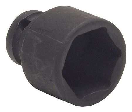 Impact Socket, 1/4In Dr, 8mm, 6pts
