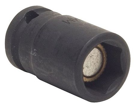 Impact Socket, 3/8In Dr, 9mm, 6pts