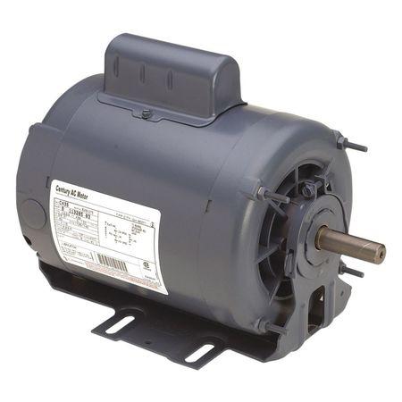 Motor, Cap St, 1 HP, 1725/1140, 208-230V, 56