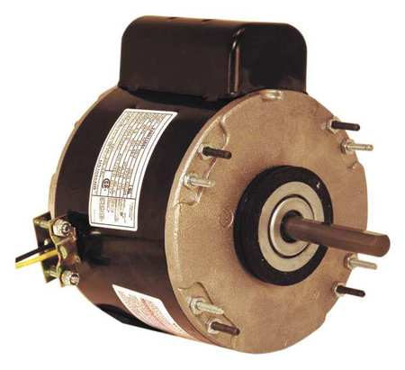 Unit Heater Motor, 1/4 HP, 1075, 115 V, 48Y
