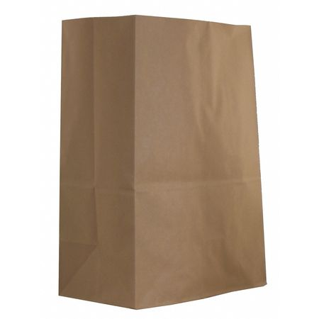"7"" Flat Brown Shopping Bag,  Pk500"