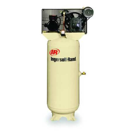 Ingersoll rand electric air compressor 2 stage 5 hp for Ingersoll rand air compressor electric motor