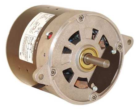 Oil Burner Motor, 1/3 HP, 1725, 115 V, 48N