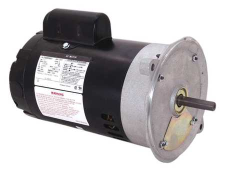 Oil BurnerMotor, 1/2 HP, 3450, 115/230v, 48N