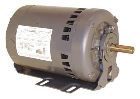 Mtr, 3 Ph, 1/2hp, 3450, 200-230/460, Eff 72.0