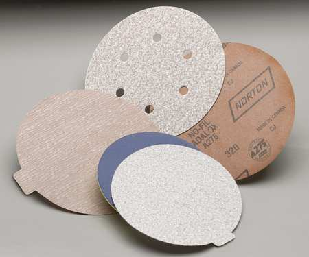 Disc, Sanding, NoHole, 5 in, VF, P240G, PK100