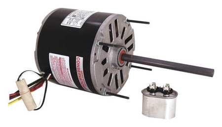 Condenser Fan Motor, 3/4 HP, 1075 rpm, 60Hz