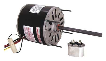 Condenser Fan Motor, 1/4 HP, 1625 rpm, 60Hz