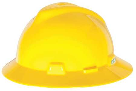 Hard Hat, FullBrim, Yellow