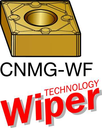 Carbide Turning Insert, CNMG 431-WF 2015