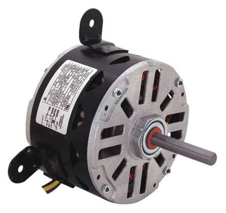 Mtr, PSC, 1/6 HP, 1075 RPM, 208-230V, 48Y, OAO