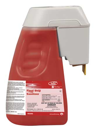 Kitchen Sink/Hard Surface Sanitizer, Red