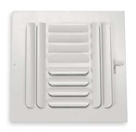 Sidewall/Ceiling Register, 4-Way