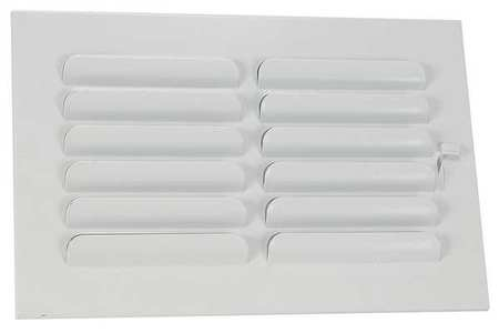 Sidewall/Ceiling Register, 1-Way