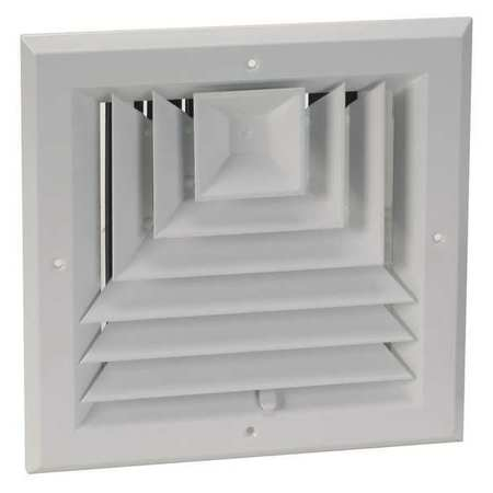 Diffuser, 3-Way, Duct Size 6""