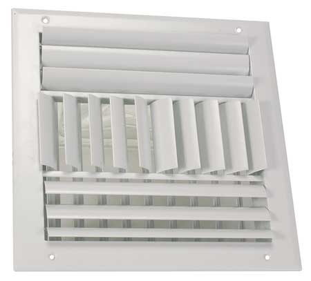 Sidewall/Ceiling Register, Adjustable