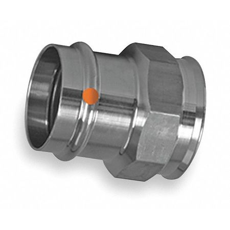"1-1/2"" x 1-1/4"" Press x FPT SS Female Adapter"
