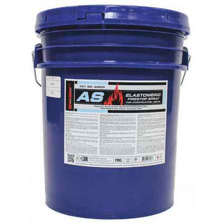Fire Barrier Spray, 5 gal., Blue