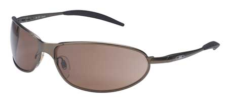 3M Bronze Safety Glasses,  Anti-Fog,  Half-Frame