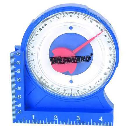 Protractor/Angle Finder, 4 5/8In, Magnetic