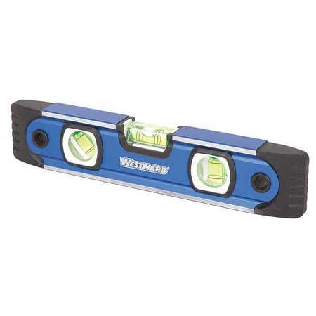 Magnetic Torpedo Level, 9 In, 3 Vials