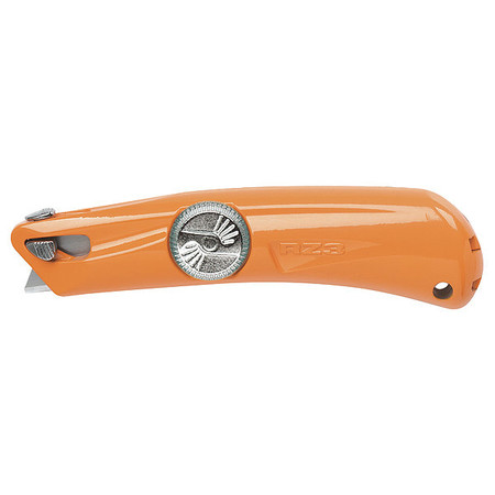 Safety Knife, 5-1/2 in., Orange