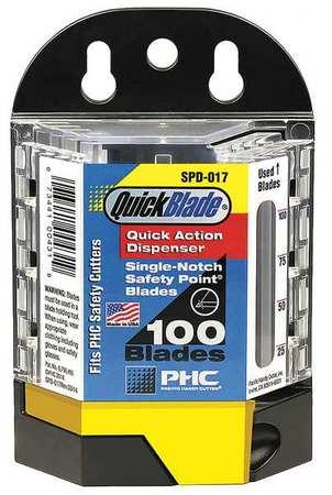 Safety Blades w/Dispenser, PK100