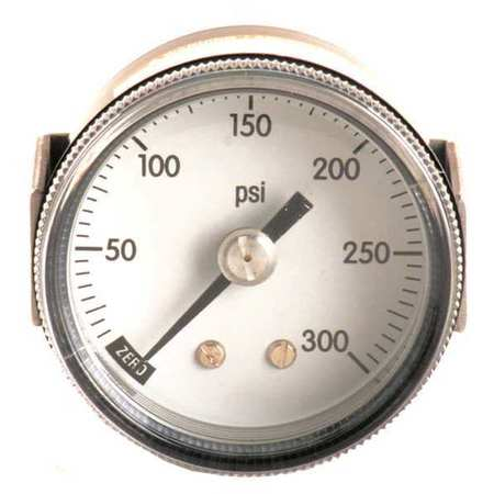 Panel Mount Pressure Gauge, U Clamp, 2 In
