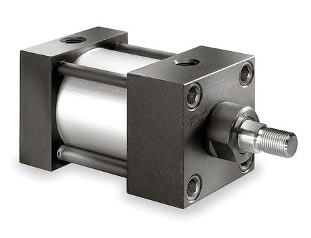 "2-1/2"" Bore Double Acting Air Cylinder 1"" Stroke"