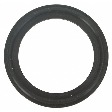 Gasket, 1 1/2 In, Clamp, Fluoroelastomer