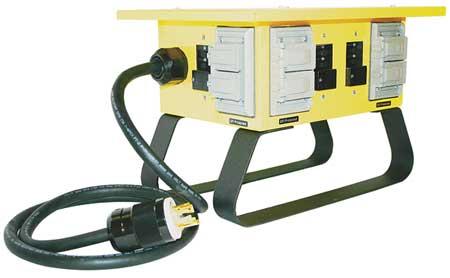 Power Distribution Box, 30 AC, (4) 5-20R