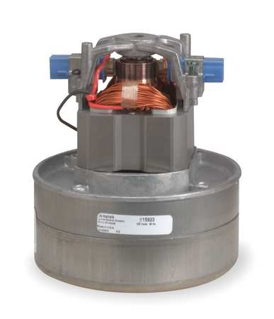 Vacuum Mtr/Blwr, Thru-Flow, 2 Stge, 1 Spd