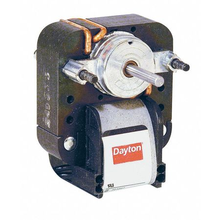 C-Frame Motor, Shaded Pole, 1 In. L, Sleeve